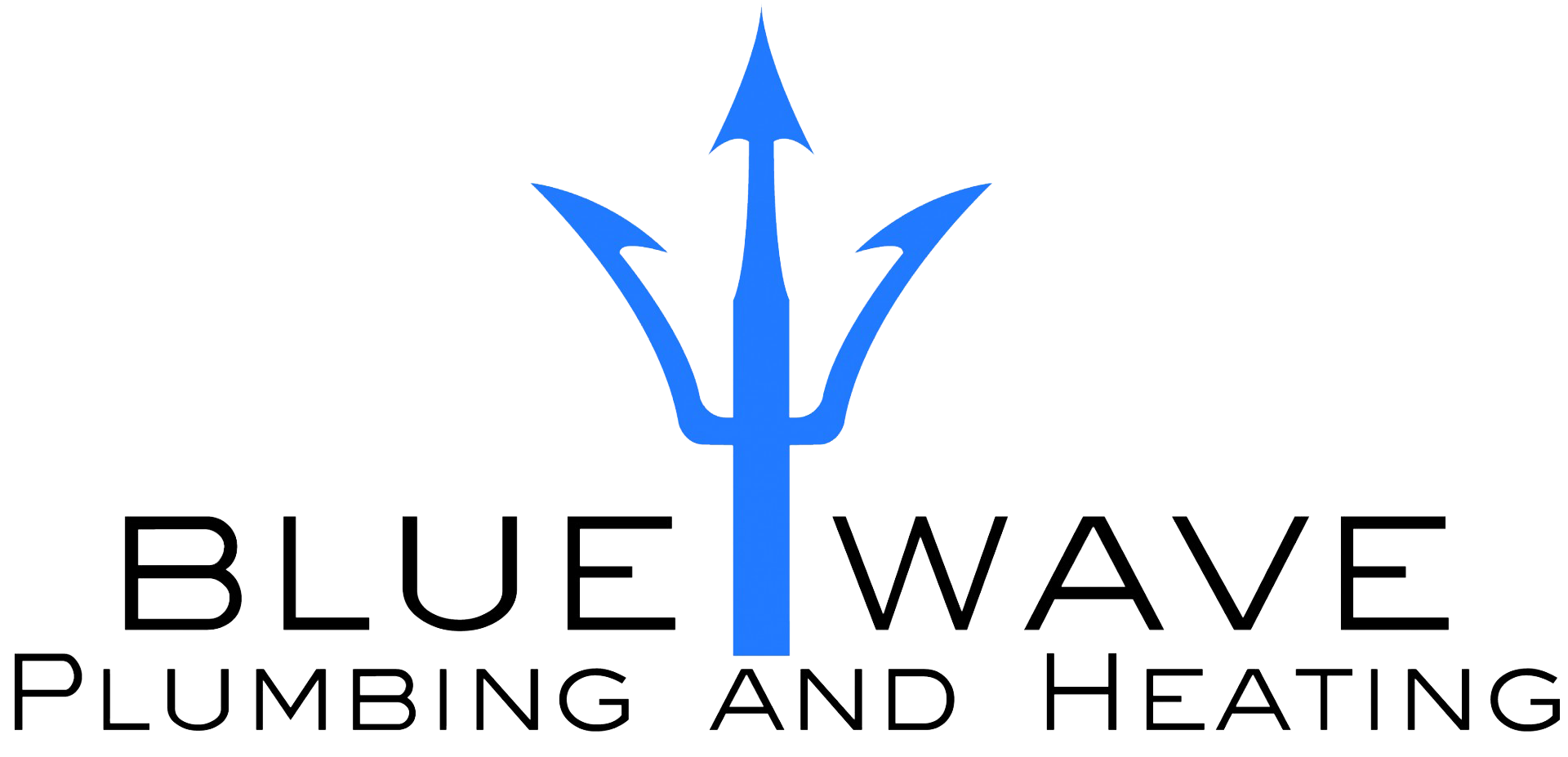 Bluewave plumbing and heating logo