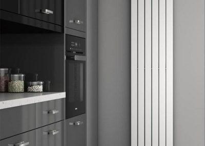 Tall modern narrow radiator